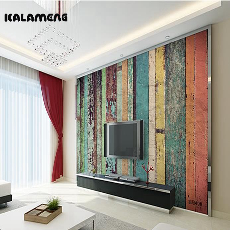 KALAMENG Custom Modern Luxury Photo Wall Mural 3D Wallpaper Papel De Parede Living Room Tv Backdrop Wall Paper Of Colorful Wood custom environmental 3d stereoscopic large mural wallpaper fabric wall paper living room tv backdrop of the sea smooth sailing