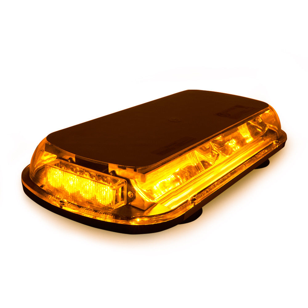 XYIVYG 44 LED Yellow Amber Vehicle Roof top Emergency Warning Flash Strobe Light Bar Flashing Lamp
