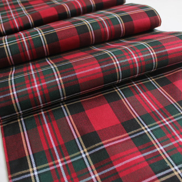 Free Shipping Promotion100% Polyester Plaid Scottish Theme Table Runner f833dc4820f6