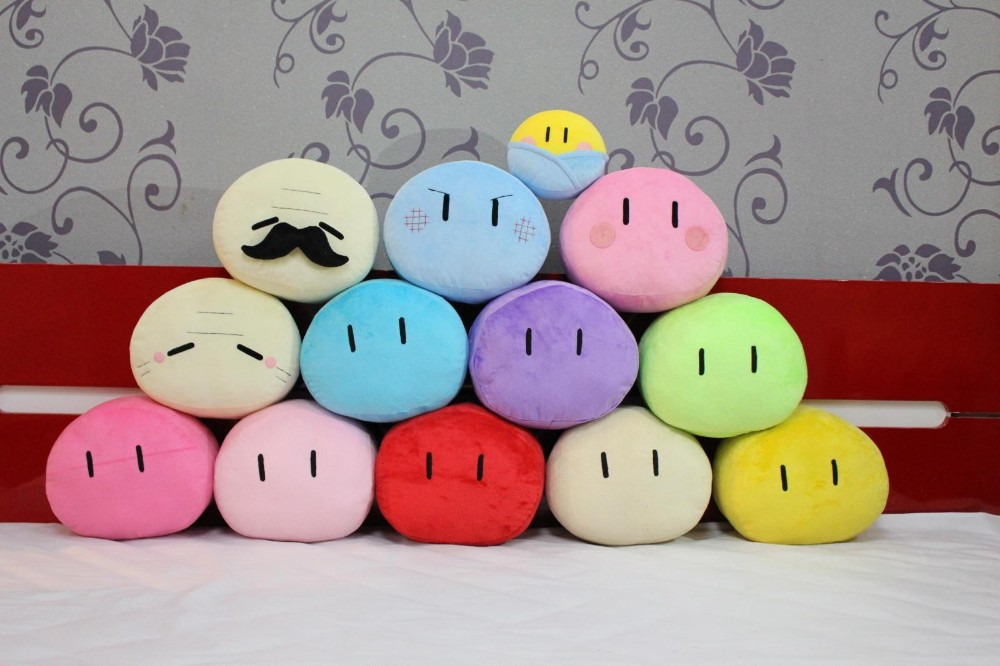CLANNAD Dango Plush Toys Daikazoku Furukawa Nagisa Dango Family Plush Pillow Cushion Cosplay For Girls Gift
