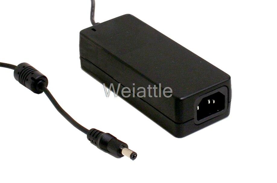 MEAN WELL original GSM40A24-P1J 24V 1.67A meanwell GSM40A 24V 40W AC-DC High Reliability Medical Adaptor selling hot mean well gsm40a12 p1j 12v 3 34a meanwell gsm40a 12v 40w ac dc high reliability medical adaptor
