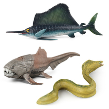 Sealife Model Simulation For Ornament And Kid Science Development 3 Styles in PVC Material Child Plastic Animal Toy