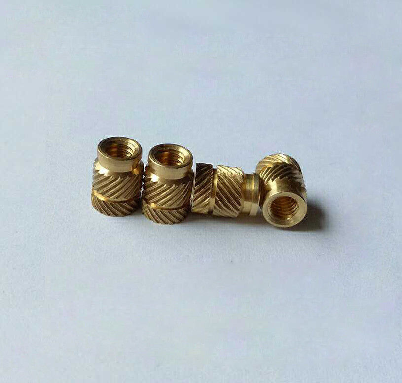 30Pcs M1.6 M2 M2.5 M3 Brass Knurled Nuts Embedded Hot-melt Injection Molding Nut