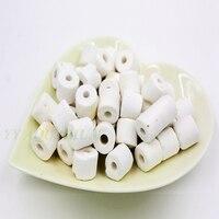 250g White Ceramic Rings Aquarium Filter Media Porous Ceramic Bio Porous Biological Rings Aquarium Pond Pool
