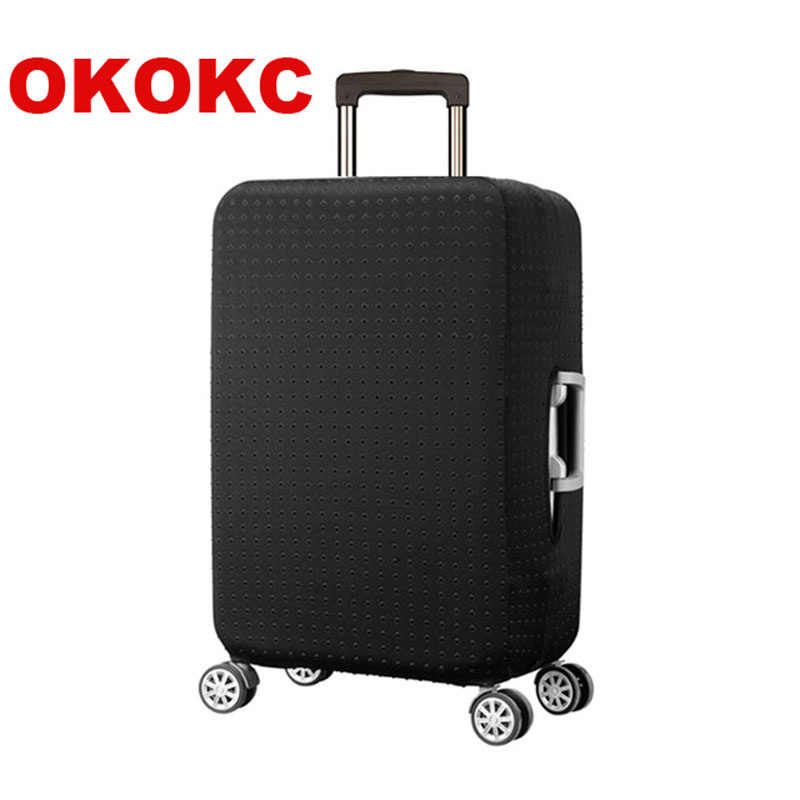 OKOKC Elastic Rivets Luggage Protective Cover For 19-32Inch Trolley Thickest Suitcase Protect Bag Case Travel Accessories