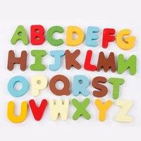 Kids Baby Educatief Houten Leren Voorschoolse Engels ABC Alfabet Milieu Kaarten Cognitieve Speelgoed Dier Puzzel Speelgoed