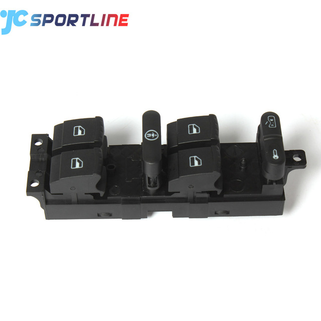 1J4959857A Crown Victoria Power Window Switch Front Driver Side for Skoda Fabia 99-08 Octavia 96-10 Superb 01-08