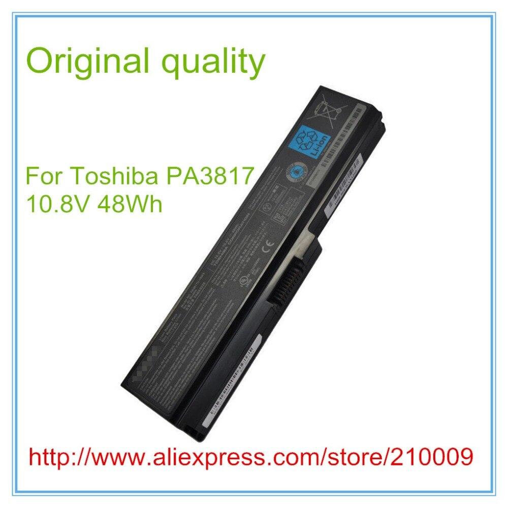 все цены на Original quality Battery For L630 L650 L645 L655 L600 L700 L730 L735 L740 L745 L750 L755 PA3817U-1BRS PABAS228 PA3817,PA3817U онлайн