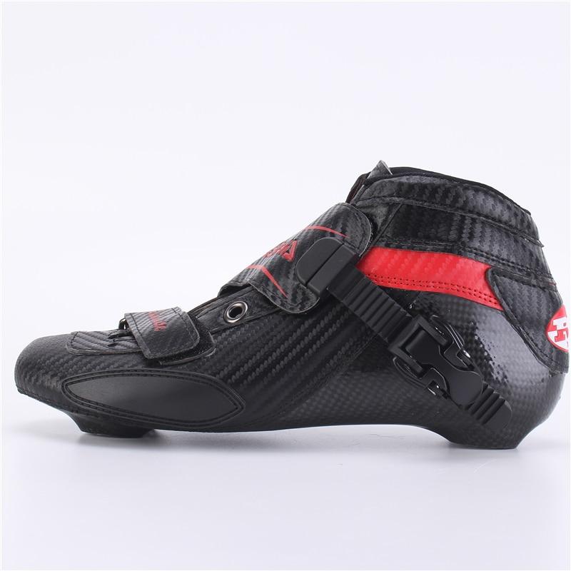 100% original RASHA skate inline speed skate boot roller skate racing skate boot full carbon