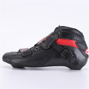 100% original RASHA skate inline speed skate boot roller skate racing skate boot full carbon