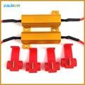 2 pcs 50 W 6ohm LED DRL Car Nevoeiro Vire Singal Resistor de Carga para Fix Hiper Flash Rápido Turn Signal Lâmpada LED Venda Quente