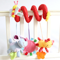 """Brand New ELC Baby Toys """"Caterpillar,Calf and Robbit"""" Revolves Baby Crib/Stroller Hanging Educational Baby Rattles Mobiles Toy"""