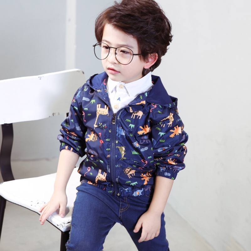 Baby Boys & Girls Coat Rainy Outdoor Wear Toddler Floral Pattern Children Clothes ...