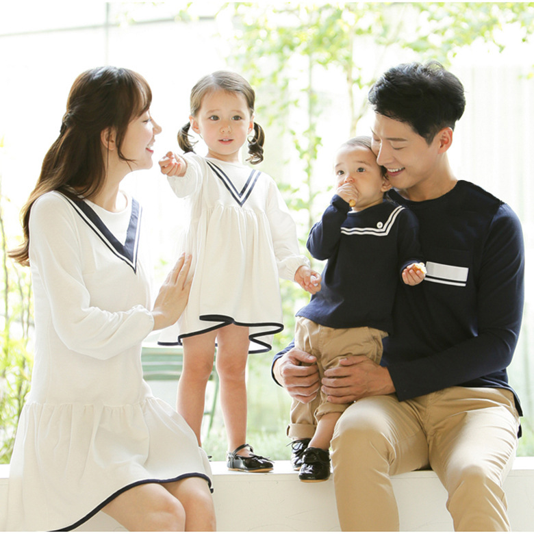 Family look mother daughter dresses couple t-shirt family clothing matching outfits mommy and me clothes father son t shirts цена 2017
