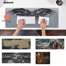 Babaite Custom Skin Game of Thrones map logo  Laptop Computer Mousepad Free Shipping Large Mouse Pad Keyboards Mat