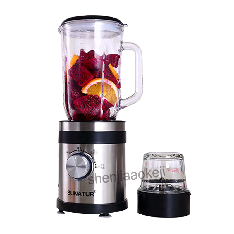 Household automatic Stainless steel vacuum juicer  multi-function fruit vegetable small food processor juice machine 220v 350W