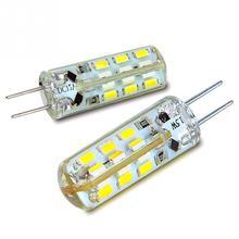 G4 24LED Lamp Beads SMD3014 LED Foam Bulb 24 G4 High Voltage 110V 220V Warm White White 3014