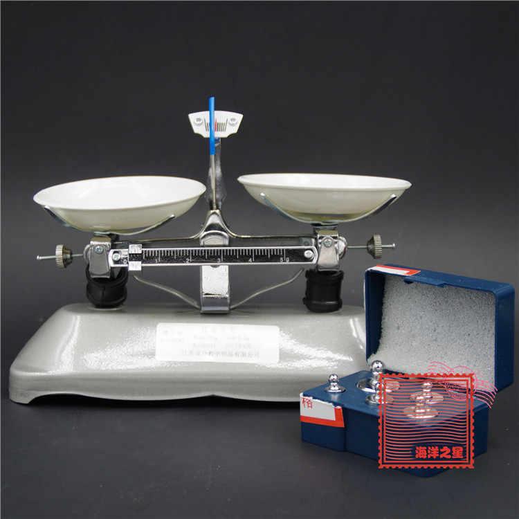 トレイバランスとバランスの100グラムではバランスの薬物検査機器化学実験装置