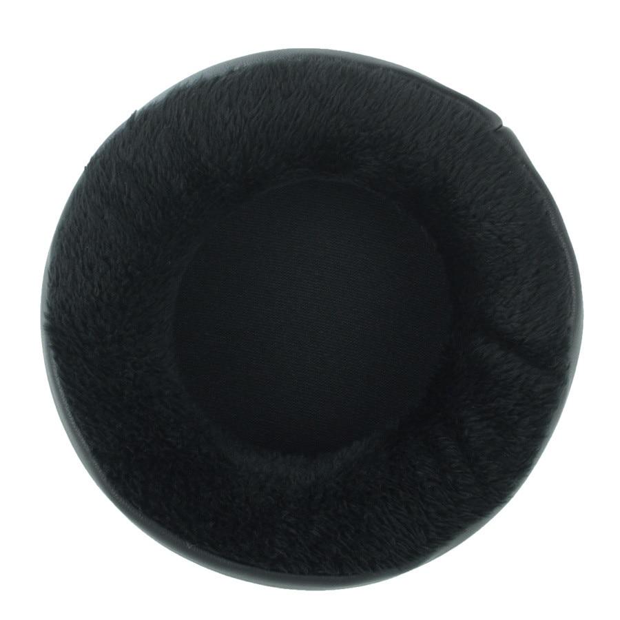 80mm-110mm Velvet Replacement Foam Ear Pads Cushions (4)