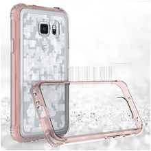 For Samsung Galaxy S7 Active G891 High Quality Anti-shock Hybird Impact TPU+Acrylic Clear Case Crystal Protective Back Cover