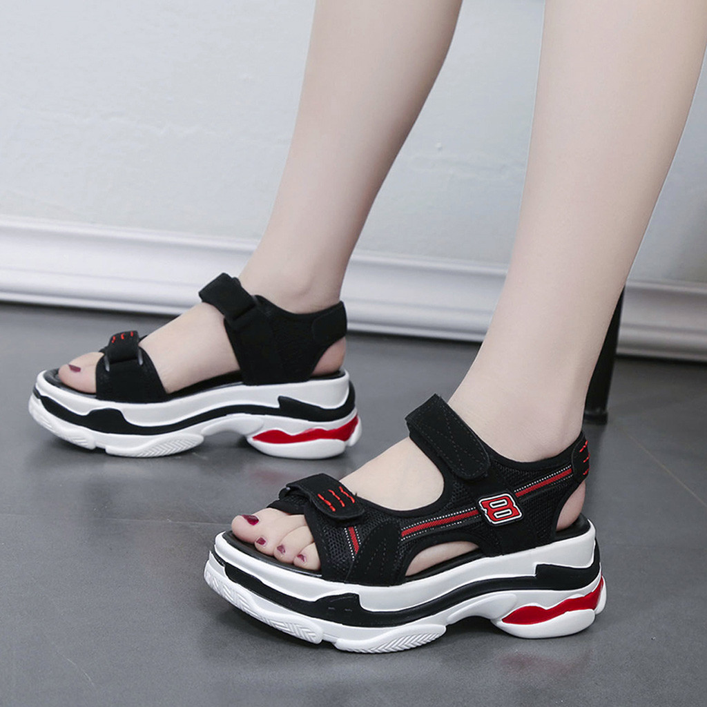 Aliexpress.com : Buy 2019 Women Sandals Casual Summer Wedges Shoes Breathable Sandals Women