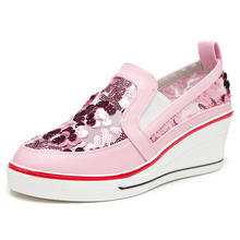 10555b1cd1 Buy glitter pink sneakers and get free shipping on AliExpress.com