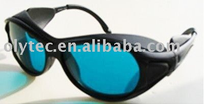 laser safety glasses 190-380nm & 600-760nm O.D 4 + CE High VLT% 10pcs 190 380
