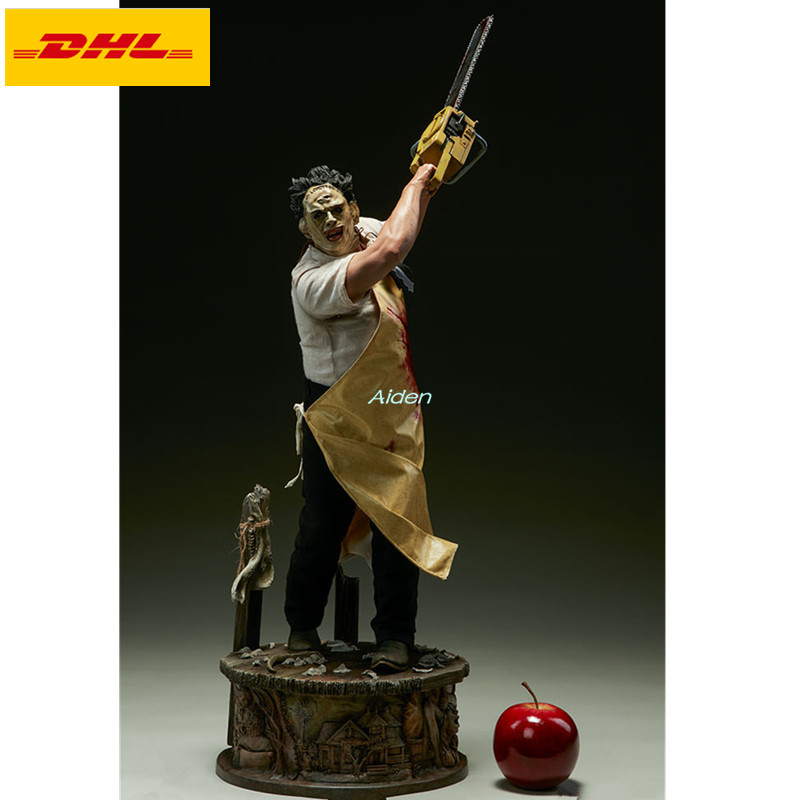 "29"" The Texas Chainsaw Massacre Statue Leatherface Bust Amok Full-Length Portrait PF Triangle GK Action Figure Toy BOX 74CM B962"