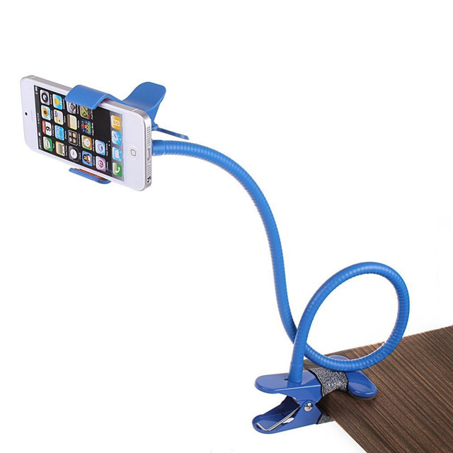 Universal Flexible Long Arms Mobile Phone Holder Desktop Bed Lazy Bracket Mobile Stand Support all Mobiles Width Less Than 90mm