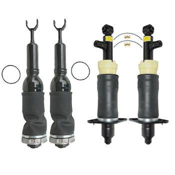 AP01 For Audi A6 C5 4PCS Air spring Shock Struts Rear left + right air springs 4Z7616051B 4Z7616051A 4Z7616052A