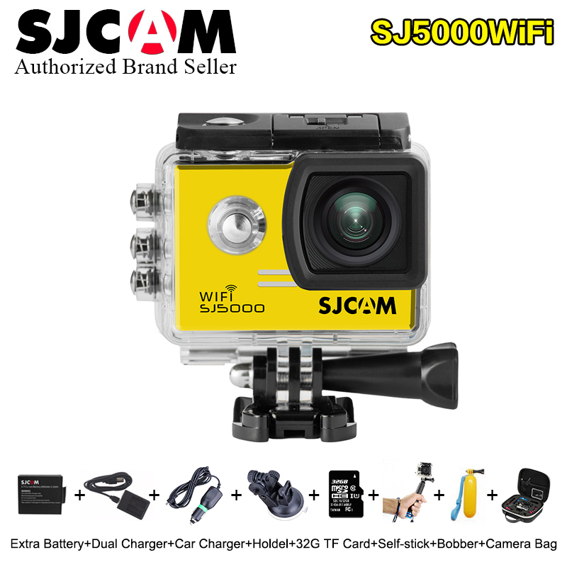 Original SJCAM sj5000 Wifi 2.0 LCD Screen NTK96655 Action Camera mini SJ CAM 5000 wifi 30m Waterproof Mini plus Sport DV cam