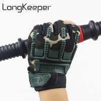 Детские тактические перчатки без пальцев для 5-13 лет, военные, Нескользящие, спортивные, на открытом воздухе, перчатки для мальчиков и девоче...