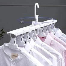 Multifunctionele Magic Smart Hanger Opslag Opvouwbare Artefact Kledingrek Huishoudelijke Droogrek Kleding multi layer Vouwen
