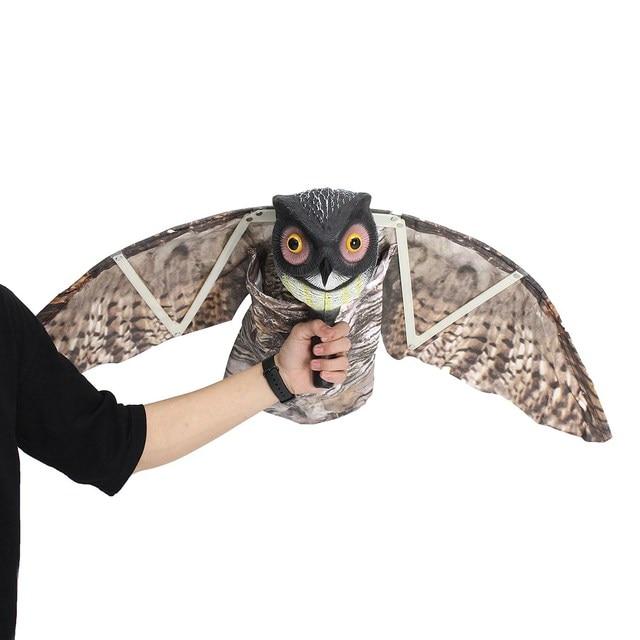 Flying Owl Decoy Pest Control Garden Mice Scarer Scarecrow Predator