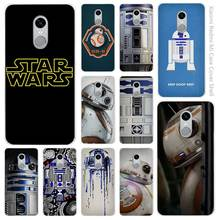Star Wars R2-D2 BB-8 Clear Cover Case Coque for Xiaomi Redmi Mi Note 3 3s 4 4A 4X 5 5S 5C 6 Pro