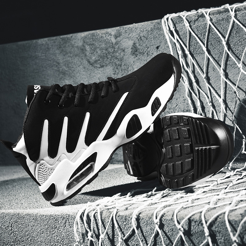 Lightweight Breathable Basketball Shoes, Stylish Sports Shoes Sneakers