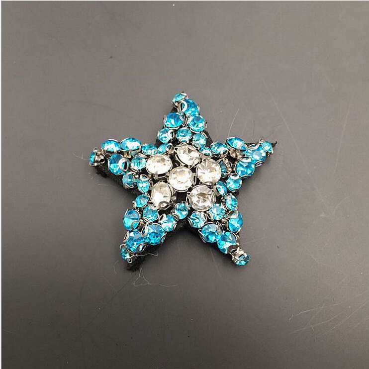 1pcs Sequined star Patch for Clothes Sewing on Rhinestone Beaded Applique  for Jackets Jeans Bags Shoes Beading Sequins Applique-in Patches from Home  ... c9af0c921038