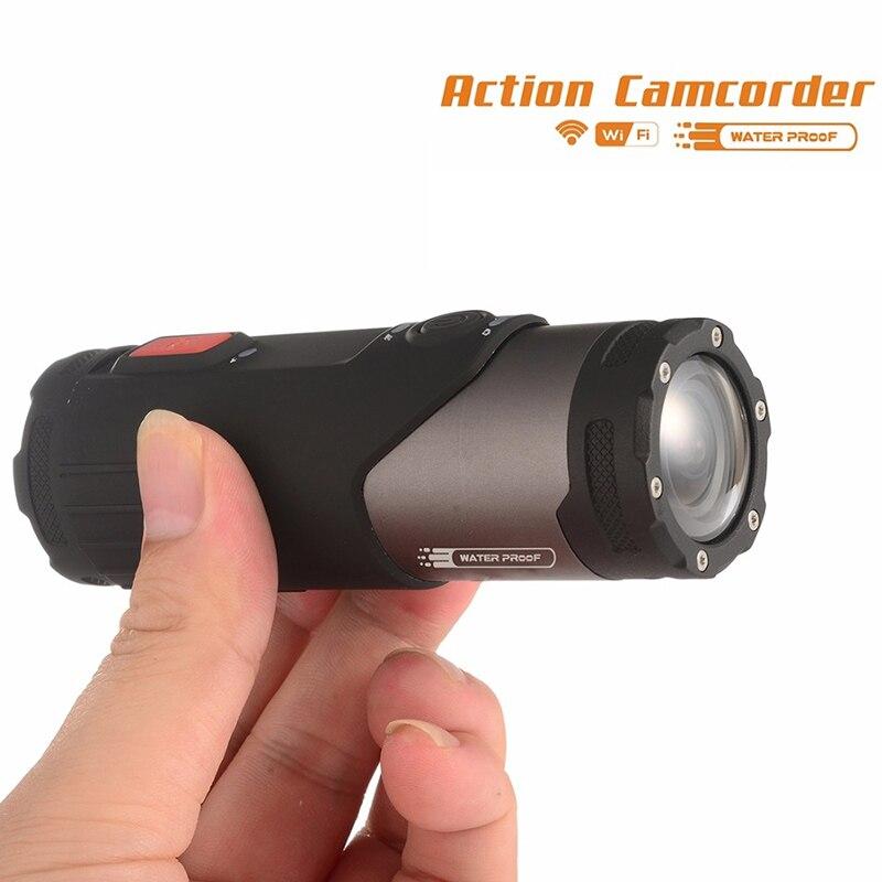 Caméra d'action Mini caméscope SOOCOO S20WS 170 degrés caméra à objectif large intégrée WiFi Full HD 1080 P 10 m caméra de sport étanche - 4