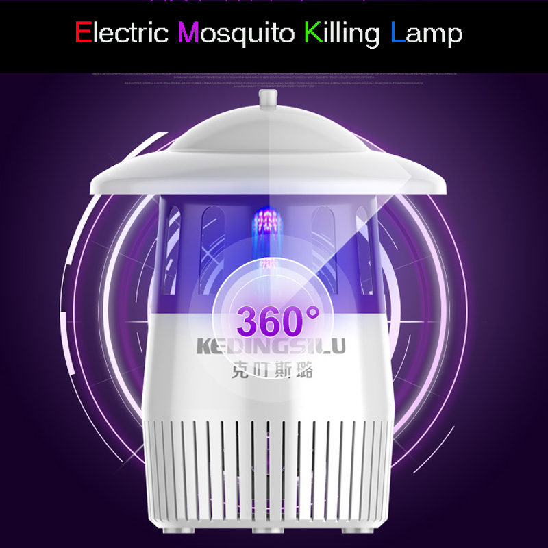 2018 Hot Photocatalyst Mosquito killer lamp Mosquito Repellent Bug Insect light Electronic Pest Control UV Light Killing Lamp mini night light insect mosquito repellent mosquito flies housefly home safe free shipping