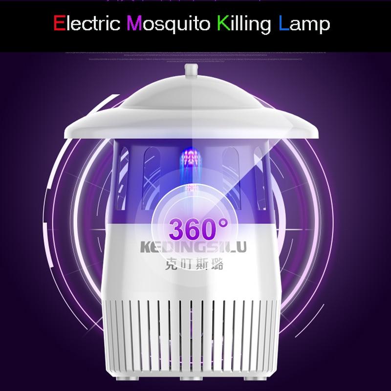 все цены на 2018 Hot Photocatalyst Mosquito killer lamp Mosquito Repellent Bug Insect light Electronic Pest Control UV Light Killing Lamp