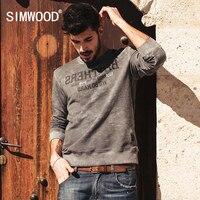 SIMWOOD Brand 2016 New Autumn Winter Sweatshirts Men Fashion Causal Warm Hoodies Long Sleeve WY3006