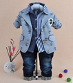 Bebê 0-5a homens meninos crianças crianças de jeans meninos vestidos bebê roupas