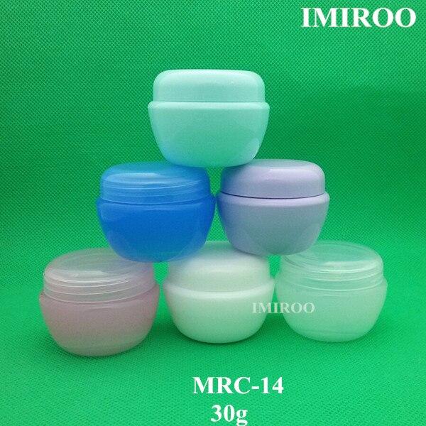 ᗔ30 conjuntos 30g envases cosméticos vacíos seta frascos vacíos de ...