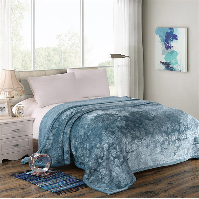 Printing Luxurious Large Warm Thick Sherpa Throw Blanket