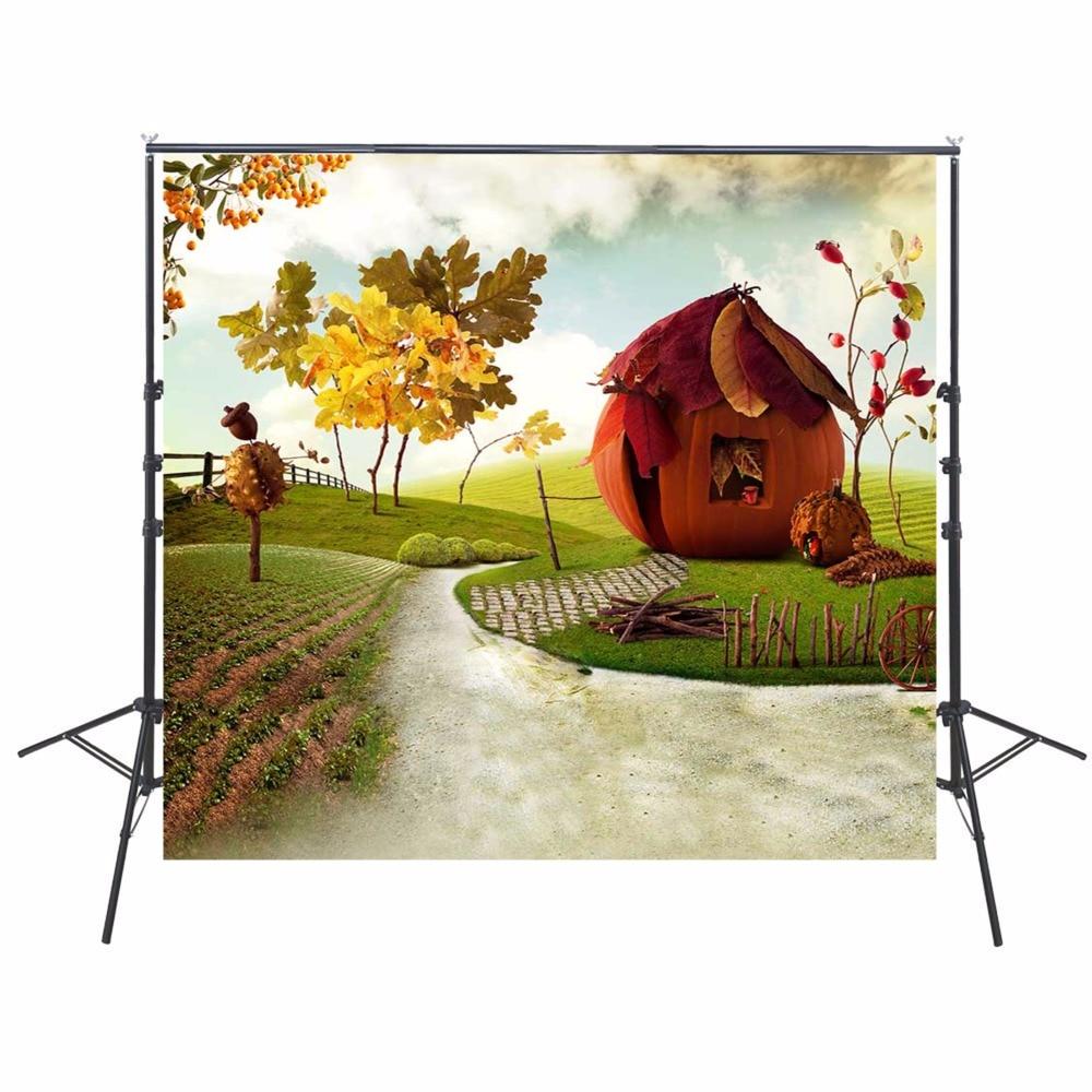 Cartoon Scenic Photography Backdrops Vinyl Backdrop For Photography Children Background For Photo Studio Foto Achtergrond