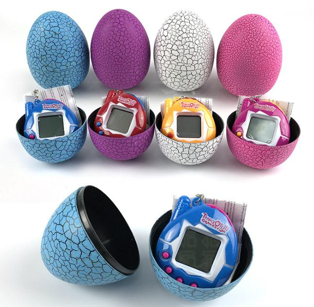 New Electronic Pets Design Dinosaur Egg Virtual Cyber Digital Pet Game Toy Tamagotchis Digital Electronic E-Pet New Year Gifts