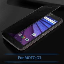Новинка для Motorola Moto G (3rd Gen) /G3 случае Высокое качество Флип кожаный чехол для Motorola MOTO G3