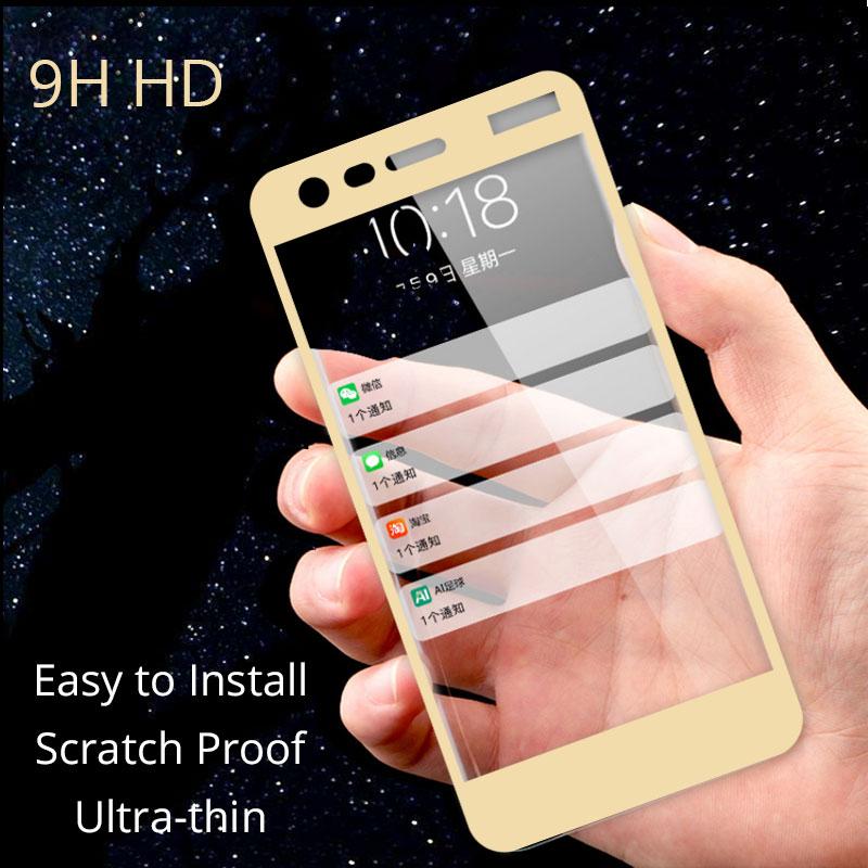 Полный защитное закаленное стекло для Nokia 2 Защитная пленка для Nokia 2 5,0 ''защита экрана Переднее стекло для Nokia 2