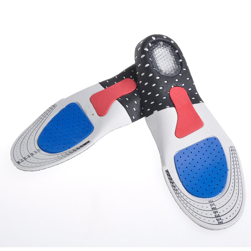 Unisex Orthotic Arch Support Sport Shoe Pad Sport Running Gel Insoles Insert Cushion for Men Women foot care