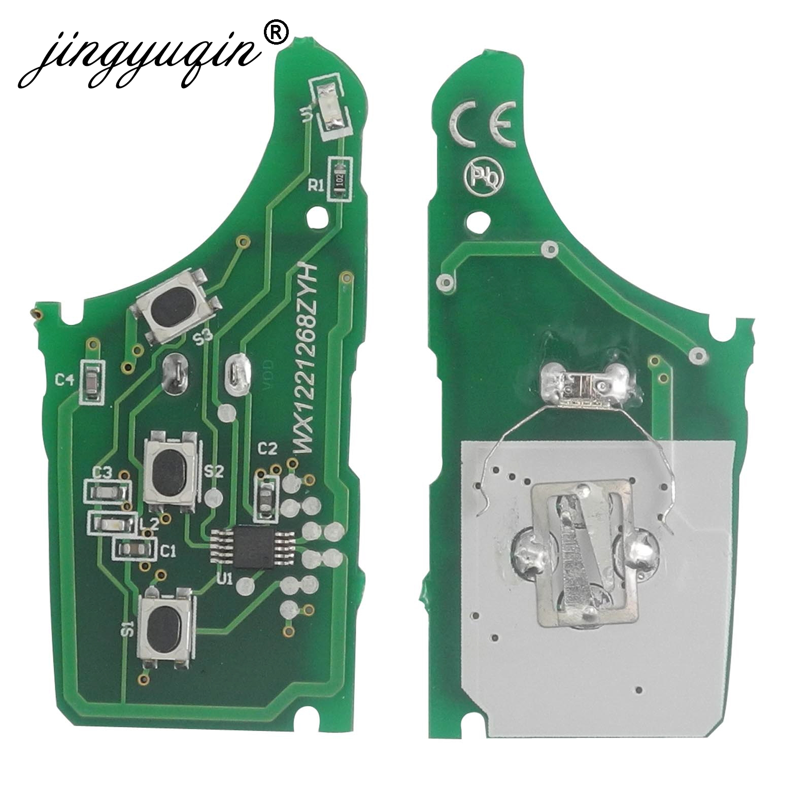 jingyuqin 10pcs 433MHz FSK Remote Key Circuit Board Fob Fit For Hyundai I30 IX35 for kia